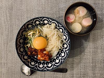 キムチとお味噌汁